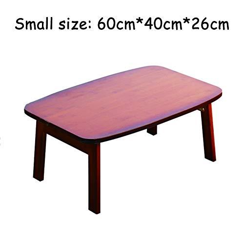 Opvouwbaar Laptop Tafel, Kleine Tafel voor Bed, student studie, Office Games, luxelijst gemaakt van massief hout, ontbijt, ruimte te besparen