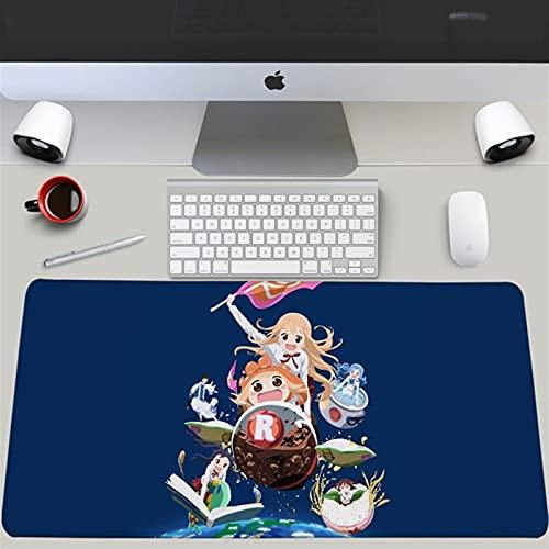 HSPHFX Células en el trabajo Plaquetare Desktop Keyboard Pad Precision Speed Speed Gaming Alfombrilla de ratón 80/90 cm Expandir Largo Hataraku Saibou Kessh □ Ban Pad Computer para goma antidesliz