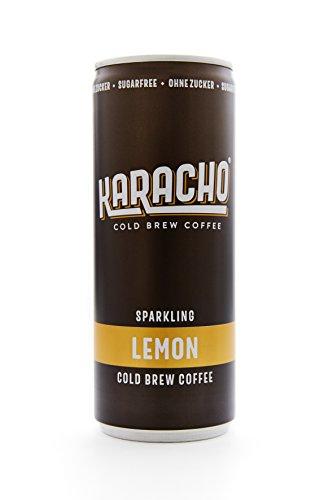 Kaffee Kaltgetränk cold brew coffee | Karacho Lemon | 24 Stück | ohne Zucker | natürliches Koffein | inkl. 0,25€ Pfand/Dose
