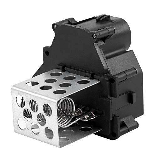 Yctze Resistencia del ventilador del ventilador del calentador de de aluminio + ABS para Citroen Berlingo C1 C4 Xsara Picasso 9649247680