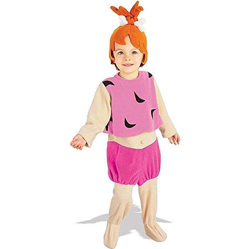 The Flintstones Pebbles Kostüm Kinder Kinderkostüm Babykostüm Feuerstein Gr T-M, Größe:M