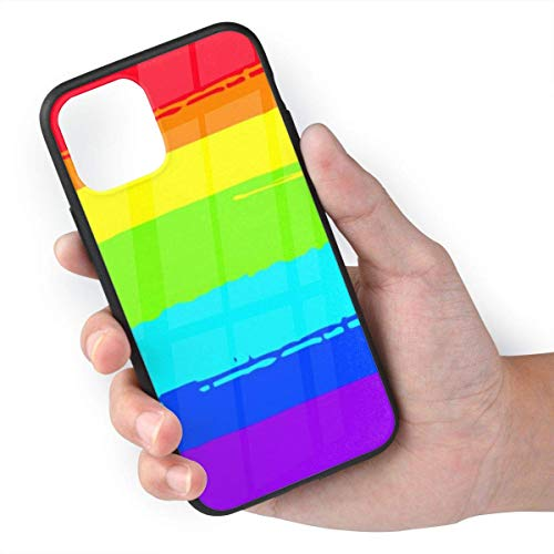 Deal Market LLC -Rainbow Pride Gay Lesbian Queer LGBT -Hard Rubber Phone case Compatible with Samsung Note 20 Ultra 5G (2020 Model)