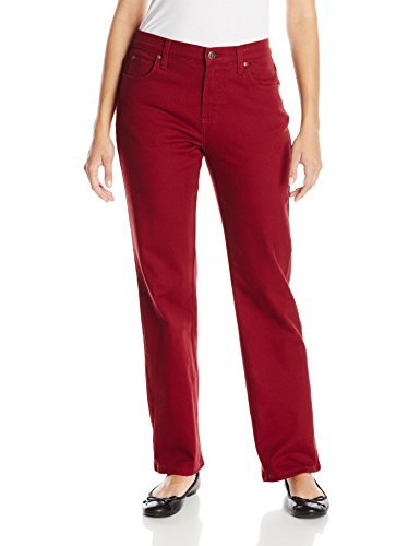 Lee womensRelaxed Fit Straight-Leg Jean Jeans - Red - 8 US