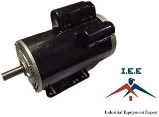 5 HP 3450 RPM Electric Motor COMPRESSOR DUTY 56 Frame 1 Phase 7/8 Shaft