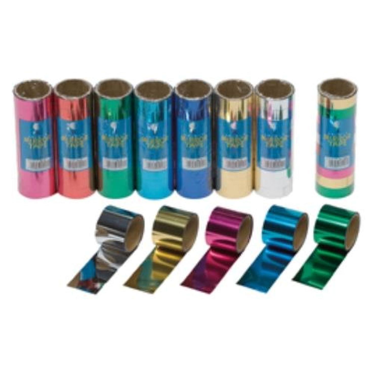 電信必要条件苦痛ミラーテープ18mm(10巻入)緑 139-193