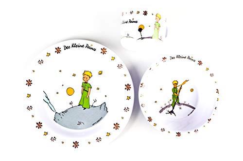 p:os 67365 - Der Kleine Prinz Frühstücksset im Geschenkkarton, 3 teilig