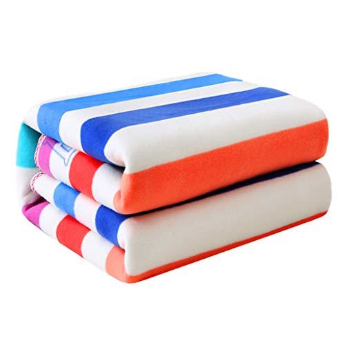 NHL-DRT elektrische deken Plus Velvet, extra groot, 200 × 180 cm, snel opwarmen, dikte van de elektrische veiligheid, laag stroomverbruik, warmkussen