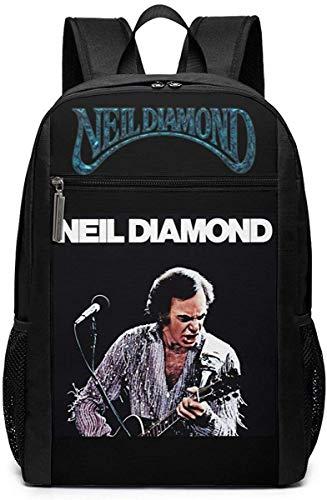 Neil Diamond Woman Mature College School Backbag,backbag Laptop, Backpack,Bookbag Schoolbag