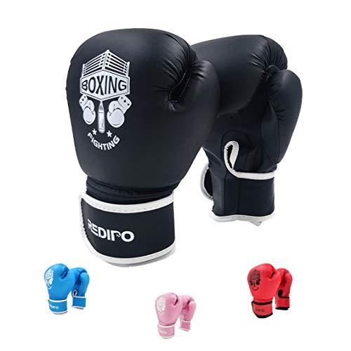BOXEUR DES RUES Blue Boxing Gloves In Premium-quality Leather Unisex