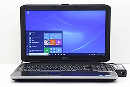 【中古】 DELL Latitude E5530 Core i5 3340M 2.7GHz/4GB/320GB/Multi/15.6W/FWXGA(1366x768)/Win10