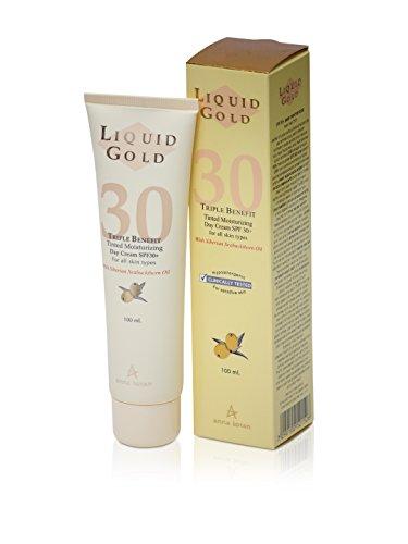 Anna Lotan Liquid Gold Triple Benefit Tinted Moisturizing Day Cream SPF30 100ml 3.4fl.oz