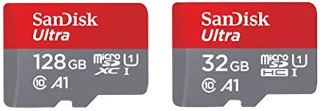 SanDisk 400GB Ultra microSDXC UHS-I Memory Card with Adapter - 100MB/s, C10, U1, Full HD, A1, Micro SD Card - SDSQUAR-400G-GN6MA