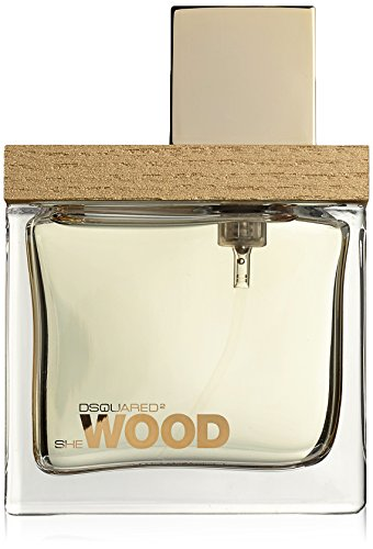 Dsquared She Golden Light Wood femme/woman, Eau de Parfum Vaporisateur, 1er Pack (1 x 30 ml)