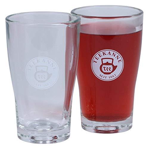 Teegläser von WMF 2er Set - 250 ml Teeglas aus Glas, Transparent von Teekanne