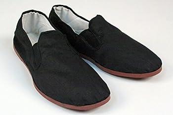BlackBeltShop Rubber Sole Kung Fu Tai Chi Shoes Size Men s 10 1/2 to 11