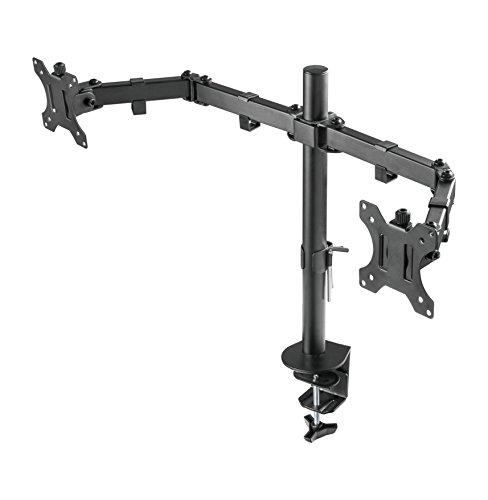 Lavolta – Monitorhalter für 2 Monitore (360 Grad Drehung und Schwenkung) (13″ bis 27″) - 5
