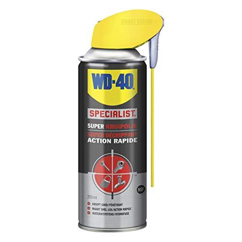 WD-40-Spezialist, Super-Penetrationsöl mit intelligentem Stroh, löst festsitzende oder verrostete Teile, stark durchdringend, feuchtigkeitsspendend und rost- und korrosionsbeständig, 250 ml
