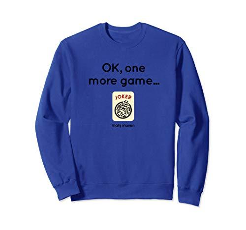 OK, one more game! Mahjong (mahj jong) Sweatshirt