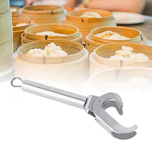 Anti-Hot Clip, Komgrijper, Keuken Rvs Pot Pan Grijper Anti-Scald Plate Retriever