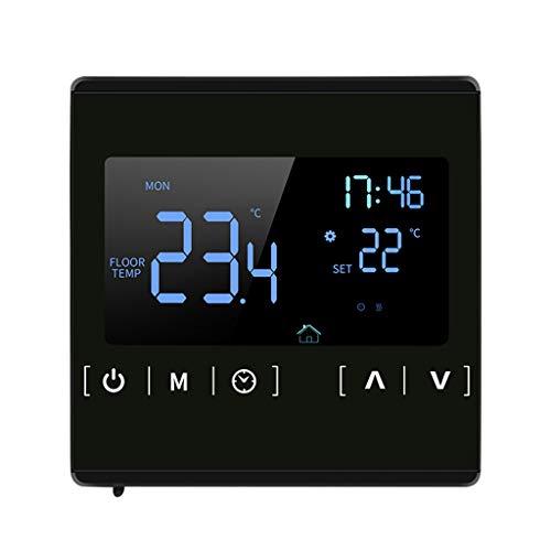 R-WEICHONG AC85~250 V Termostato de calefacción de suelo Termostato 220V 16A Pantalla