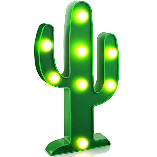 Product Image of the LED Night Light LED Cactus Light Table Lamp YiaMia Light for Kids' Room Bedroom...