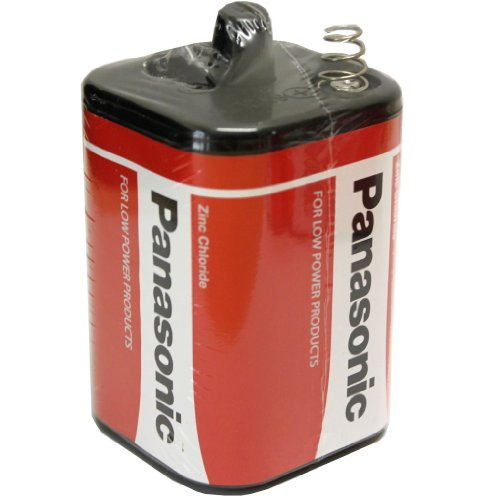 All Trade Direct 2 x Panasonic 6 V Torch 996 Lantern PJ996 battery 4R25 Zinc Chloride 4R25RZ/B