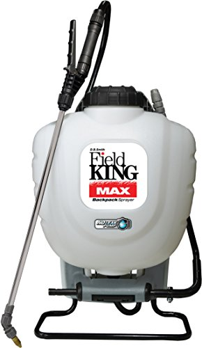 commercial motorised backpack sprayer Field King Max 190348 Spray Backpack for Herbicide Professionals