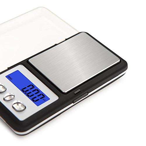 Tragbare Tasche Elektronische Waage Mini Palm Schmuckwaage Elektronische Waage 0,01 g Gramm Waage Gold Platform Waage 100 g / 0,01 g