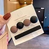 SKROWHN 2 unids/Set Vintage Acrílico Horquillas Clips para Mujeres Joyería Moda Geométrico Geométrico Barrette Coreano Muchacha Elegante Accesorios para el Cabello (Color : B)
