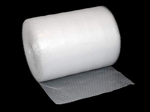 3 Rollen Luftpolsterfolie 50cm x 50m | 2-lagige Polsterfolie 60my transparente Verpackungsfolie | zwischen 2 8 Rollen wählbar