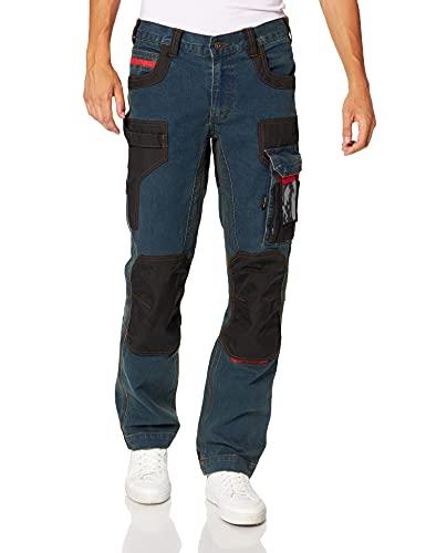 U.Power EX069RJ-RUST Jean Jeans, Blu, 46 IT Uomo