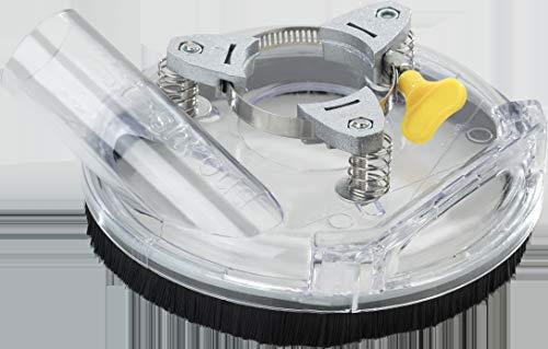 Absaughaube für 125 mm Winkelschleifer Bürstenkranz