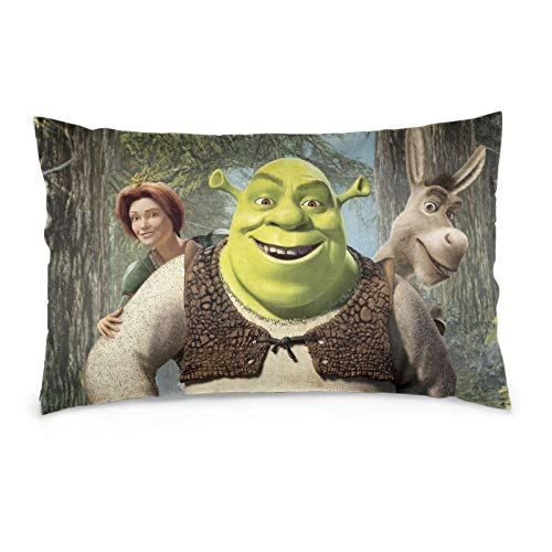 Acid Lemon Shrek Throw Pillow Covers Decorative Pillows Cushion Pillowcase for Sofa Couch Bedroom Home Decor 14