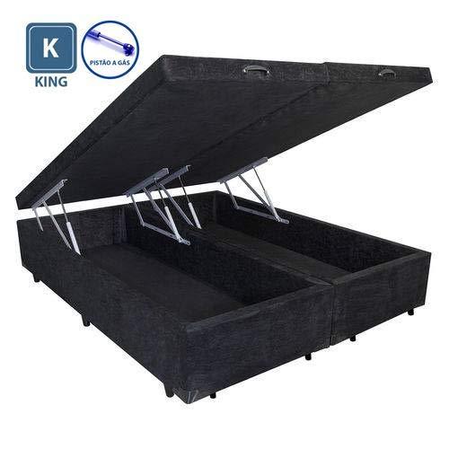 Cama Box King Size com Baú - A Colchões