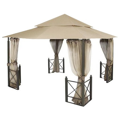 Garden Winds Replacement Canopy for The Harbor Gazebo - Standard 350 - Beige