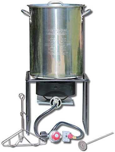 King Kooker SS12RTF Outdoor Fryer Stainless Steel product image