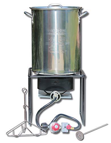 King Kooker SS12RTF Outdoor Fryer, Stainless Steel