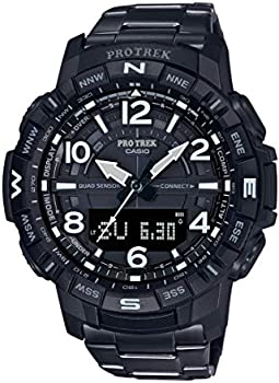Casio Men's Pro Trek Bluetooth Connected Quartz Fitness Watch