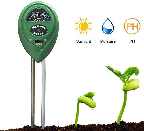 N/D 3 in 1 Soil PH Meter Moistur...