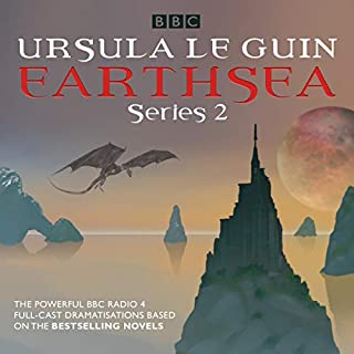 Earthsea: Series 2     A BBC Radio 4 Full-Cast Dramatisation              By:                                                                                                                                 Ursula le Guin                               Narrated by:                                                                                                                                 Nina Wadia,                                                                                        Robert Glenister,                                                                                        full cast,                   and others                 Length: 2 hrs and 44 mins     Not rated yet     Overall 0.0