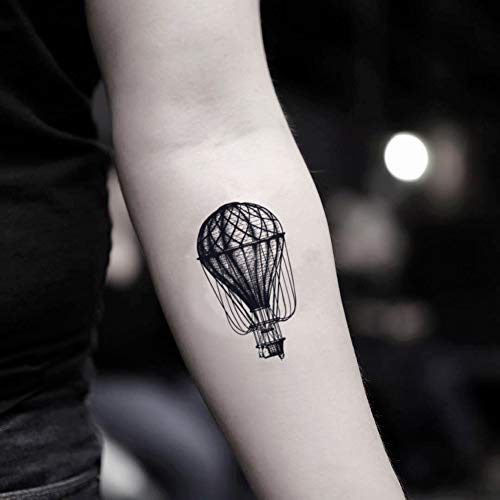 hot air balloon tattoo - 6
