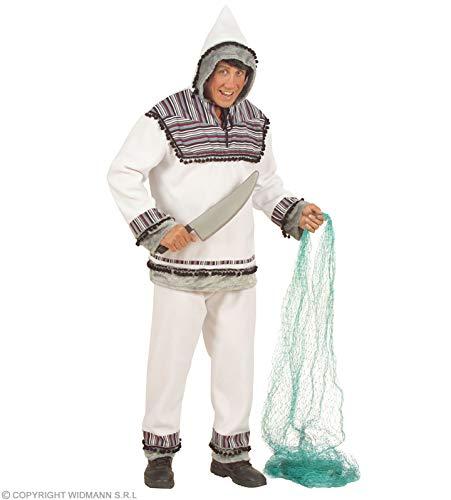 Aptafêtes - CS925780/M - Costume - Esquimau en Flanelle Homme - Taille M