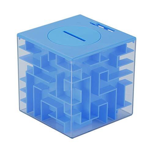 ZHIHUI Hucha Caja Fuerte Monedas Cubo del Rompecabezas 3D Maze Caja de Moneda Caja de Dinero en Efectivo Caja de Ahorro Hucha Caja de Almacenamiento Reunión de reflexión Juego Hucha Cerdito