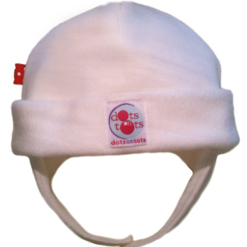 DOTS ON TOTS Organic Cotton Infant Noise Reduction Hat
