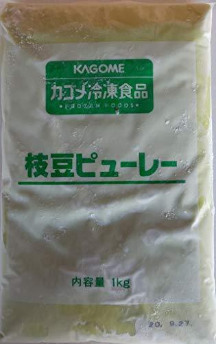 カゴメ 枝豆 ピューレ 1kg×10P ( 100%枝豆 ) えだ豆 えだまめ 業務用