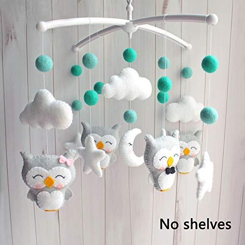 DIY Baby Crib Mobile Bed Bell Adjustable Holder DIY Toy Decoration Hanging Arm Bracket Baby Bed Stent Set Nut Screw