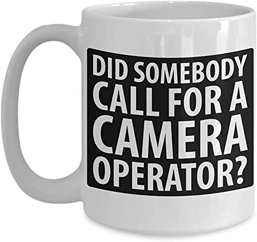 Taza de café divertida del fotógrafo de la cámara blanca MUGREEVA MUG