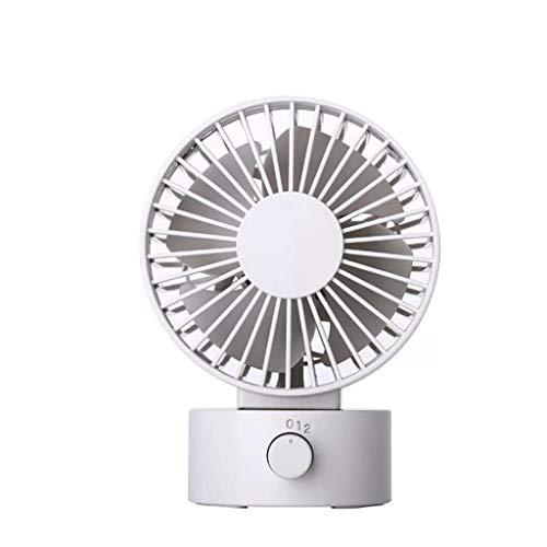WPCBAA Small USB Desk Fan Mini Lovely Design Fan Air Circulator Fan for Offices Student residences Personal Mini Desk Fan