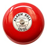 "Fire Alarm Bell, Security Alarm Bell, 12 Vdc, 6"","
