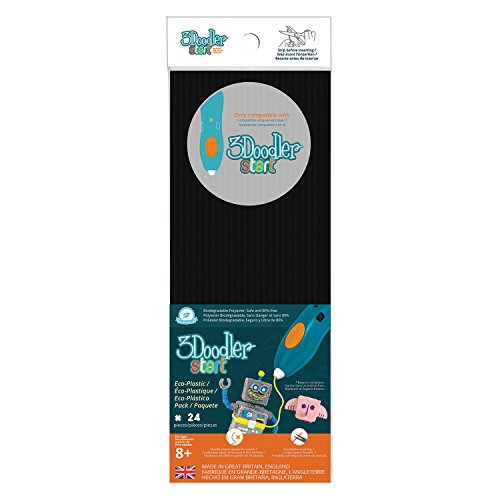 3DOODLER 62157 Start Plastic Packs Black, Multicolored